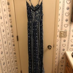 Mossimo Supply Co. maxi dress, size large